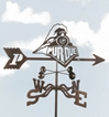 Purdue Boilermakers Logo Weathervane, EZ Vane Weather Vanes Item Number EZVPurdue