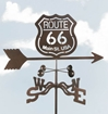 Route 66 Logo Weathervane, EZ Vane Weather Vanes Item Number EZVRoute66