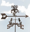 Wisconsin Badgers Logo Weathervane, EZ Vane Weather Vanes Item Number EZVWisconsin