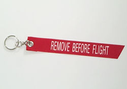 Remove Before Flight Key Chain, Born Aviation Aviation Gifts Item Number KC-RF