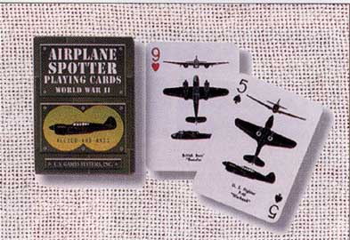 Airplane Spotter Playing Cards, Born Aviation Aviation Gifts Item Number AN-DECK