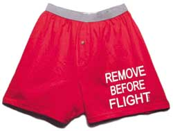 Remove Before Flight Boxer Shorts