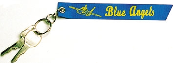 Blue Angels Keychain, Born Aviation Aviation Gifts Item Number KC-BLUE