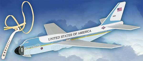 Air Force One Aircraft Glider W/Launcher, Lyonaeec Item Number LY100