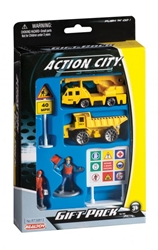 Construction Vehicle 6 Piece Gift Pack by Realtoy Diecast Toys item number: RT38813