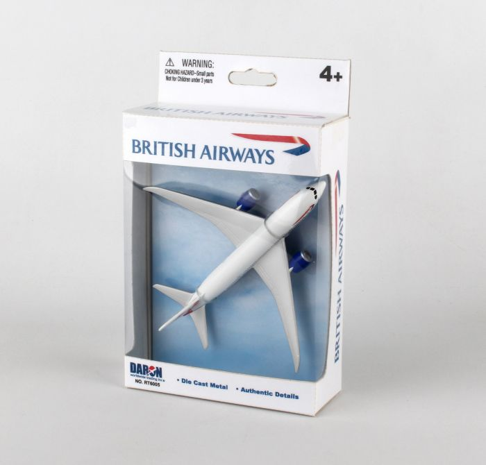 "British Airways 787 Airliner (5"") by Realtoy Diecast Toys item number: RT6005"