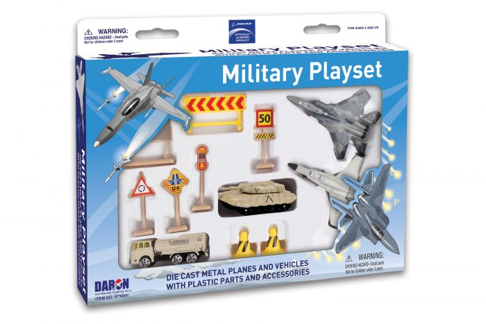 Boeing Military Playset by Realtoy Diecast Toys item number: RT9001