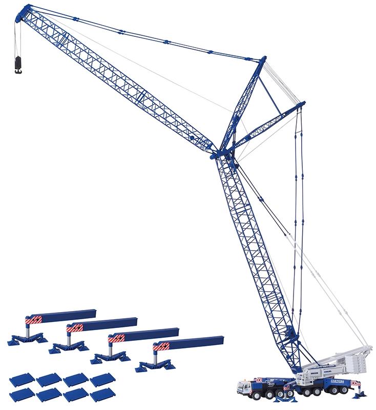 H0 O/&K Geländestapler BREUER /& WASEL Bausatz 1:87 Kibri 13058