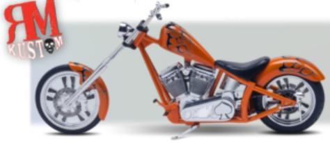 Revell  1//12 RM Kustom Chopper Motorcycle  RMX7324