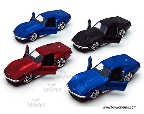 Jada Toys Bigtime Muscle Chevy Corvette Stingray Zl 1 Hard Top