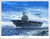 "USS Enterprise CV 6 - ""Big E"" by Mark Karvon Aviation Art Item Number: MKNCV6"