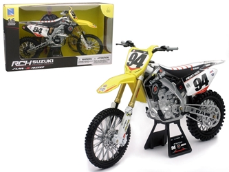 Suzuki RM-Z450 #94 Ken Roczen Dirt Bike Motorcycle 1:6, New Ray Item Number NR49523