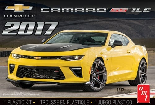 17 Chevy Camaro Ss 1:25, AMT Plastic Model Kits Item Number AMT1074
