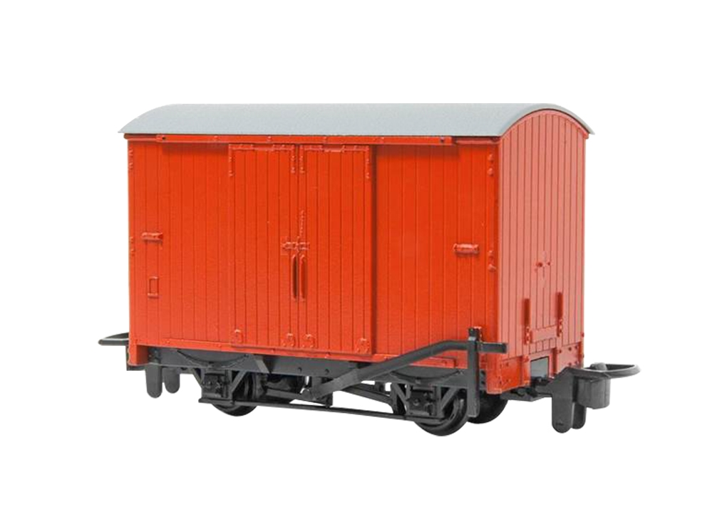 Ho/N Thomas and Friends Narrow Gauge Box Van - Red, Bachmann Model Trains Item Number BAC77203