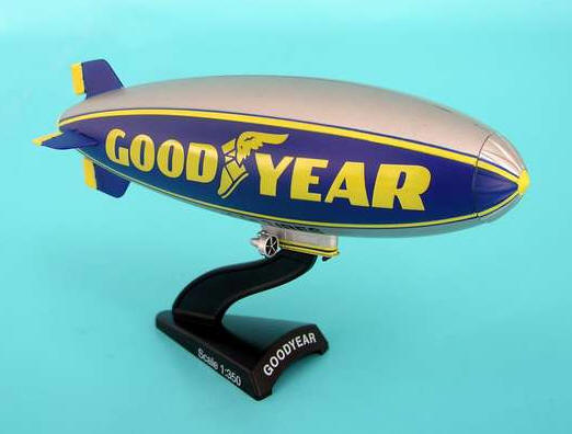 Goodyear Blimp (1:350), Postage Stamp Diecast Planes Item Number PS5411-1