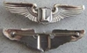 WWII LIAISON Pilot Wing Sterling Silver Pin Back Govt Issue