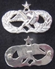 Air Force Occupation & Aeronautical Badges - Maintenance Senior Full Size Sterling, Weingarten Gallery Item Number P-2212