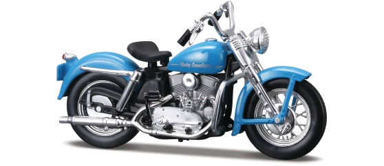 1952 K Model, Harley-Davidson Motorcycles Series 27 (1:18), Maisto Item Number MST31360/27E