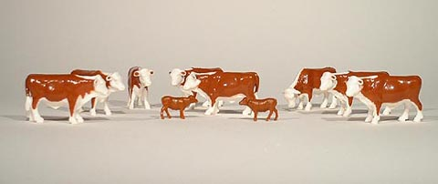 Cattle - Herefords (1:64), ERTL Item Number ERTL12660-25
