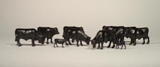 Cattle - Angus (1:64), ERTL Item Number ERTL12661-25