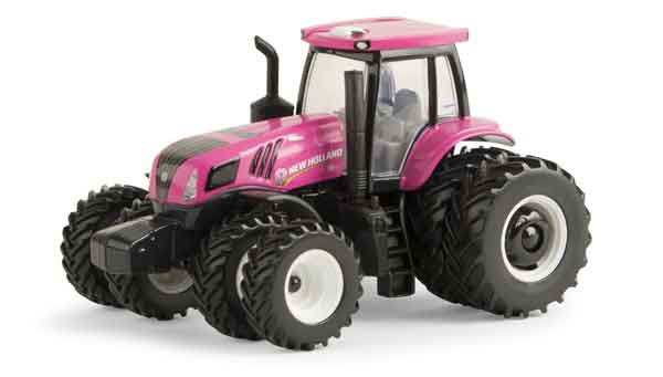 New Holland T8.410 Pink Tractor