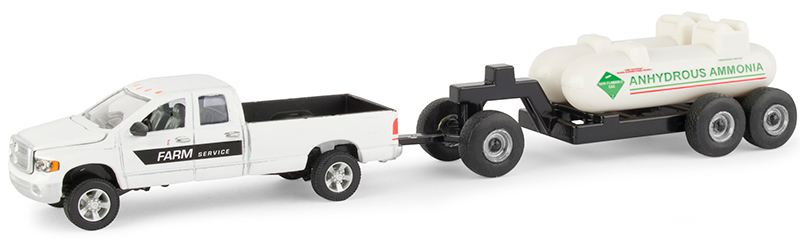 2011 RAM Pickup Truck with Anhydrous Ammonia Tank and Chassis (1:64) by ERTL Item Number: ERTL16380