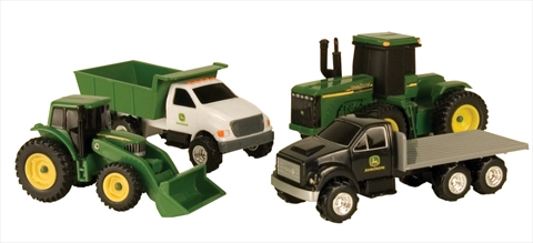 John Deere 4-piece Vehicle Gift Set, ERTL Item Number ERTL35454