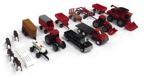 Case IH Vehicle Playset, ERTL Item Number ERTL44091