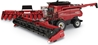 Case 9250 Combine with Folding Corn Head and Draper Head 1:32 - Prestige Collection by ERTL Item Number ERTL44164