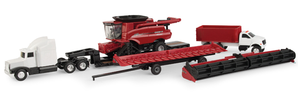 Case IH Harvesting Playset 1:64 by ERTL Item Number ERTL44165