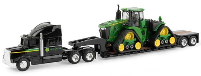 John Deere Semi and Lowboy Trailer (1:64), ERTL Item Number ERTL45559