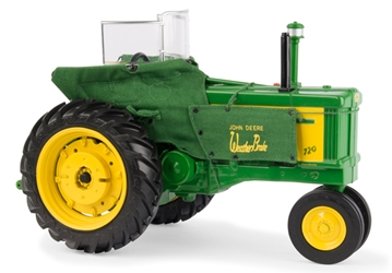 John Deere 720 Tractor with Weather Brake Heat Houser (1:16), ERTL Item Number ERTL45577