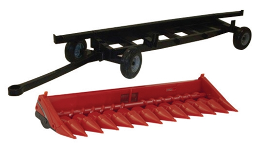 Case 4412 Corn Head and Header Cart (1:16), ERTL Item Number ERTL46622