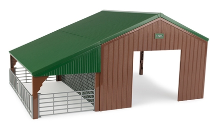 Livestock and Vehicle Barn 1;32 by ERTL Item Number ERTL46961