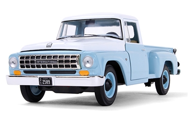 1963 International C1100 Pickup in Seascape Blue (1:25) by First Gear Item Number FRG40-0421