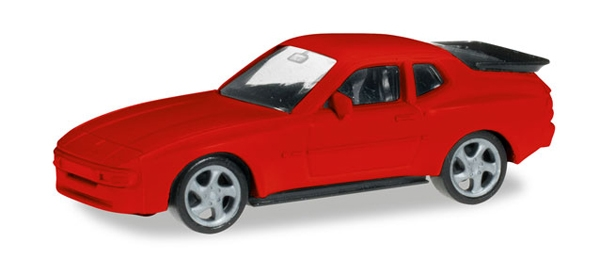 Porsche 944 in Red (1:87), Herpa HO Scale Models, Item Number HE012768R