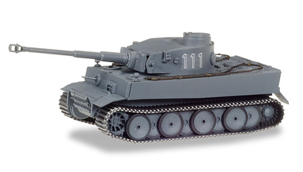 Heavy Tiger Tank Vers. H1 (1:87), Herpa HO Scale Models, Item Number HE745987
