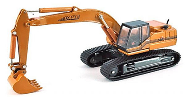 Case 1488 Plus Tracked Excavator 1:87 by HWP Item Number: HWP006485