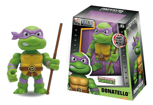 Donatello 4-Inch Diecast Metal Figure