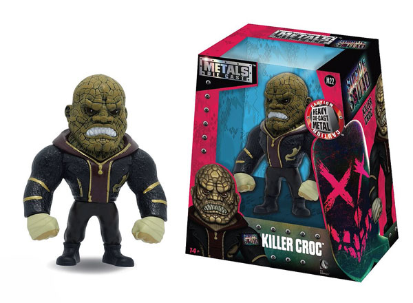 Killer Croc 4-Inch Diecast Metal Figure