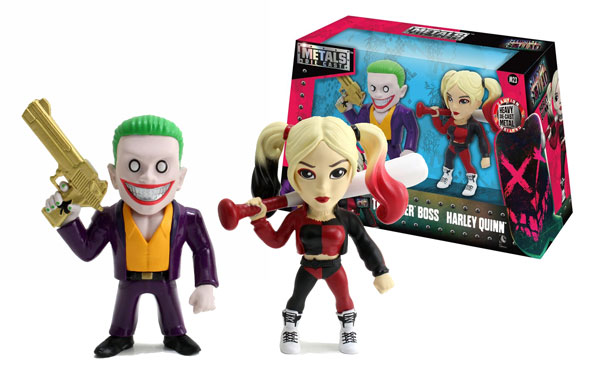 Joker Boss and Harley Quinn Twin Pack