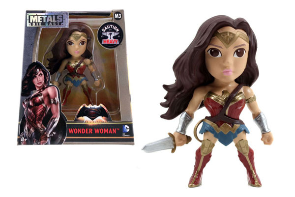 Wonder Woman 4-Inch Diecast Metal Figure