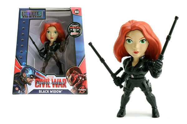 Black Widow 4-Inch Diecast Metal Figure