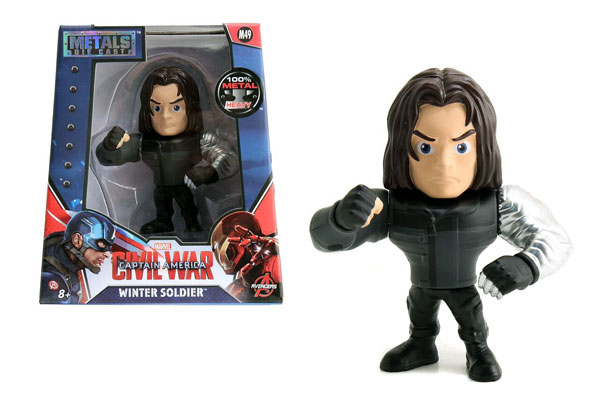 Winter Soldier 4-Inch Diecast Metal Figure