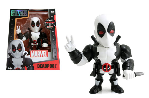 Deadpool in White Uniform 4-Inch Diecast Metal Figure