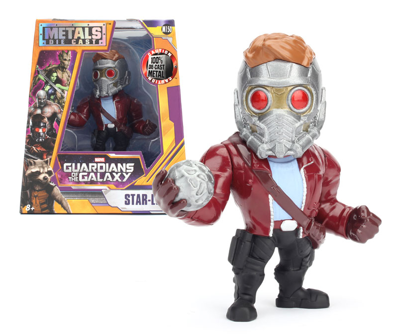 Star-Lord 4-Inch Diecast Metal Figure M150