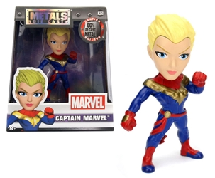 Captain Marvel 4-Inch Diecast Metal Figure