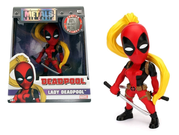 Lady Deadpool 4-Inch Diecast Metal Figure