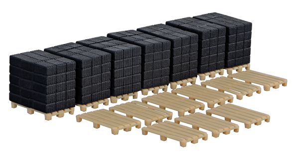 Pallets and Loads - Plastic Model Kit (1:87)