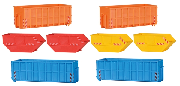 Roll Off Containers Plastic Model Kit (1:87)